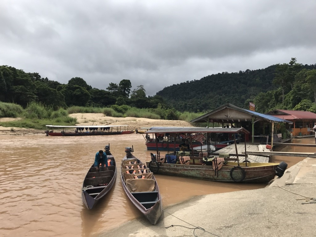 タマンネガラの船着き場